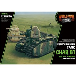 MENG WWT-016 French Heavy Tank Char B1 (Cartoon Model)