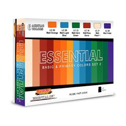 LIFECOLOR ES02 Essential Basic & Primary Colors Set 2