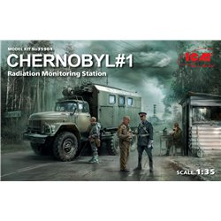 ICM 35901 1/35 Chernobyl 1 Radiation monitoring station