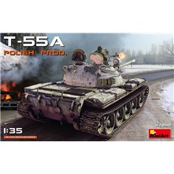 MINIART 37090 1/35 T-55A Polish Production