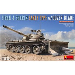 MINIART 37044 1/35 Tiran 4 Sharir Early Type w/Dozer Blade