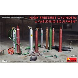 MINIART 35618 1/35 High Pressure Cylinders w/Welding Equipment