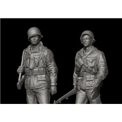 PANZER ART FI35-095 1/35 US Soldiers in M43 uniform set