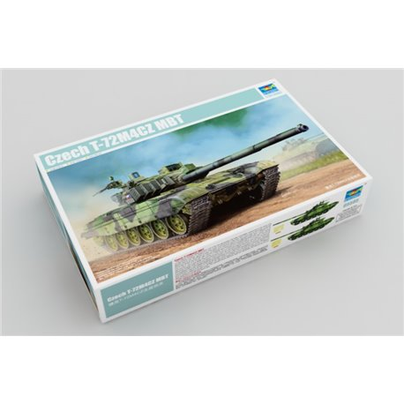 TRUMPETER 05595 1/35 Czech T-72M4CZ MBT*