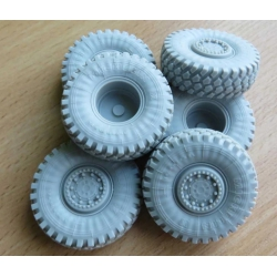 PANZER ART RE35-621 1/35 Buffalo a2 MPCV Road wheels (Panda kit)