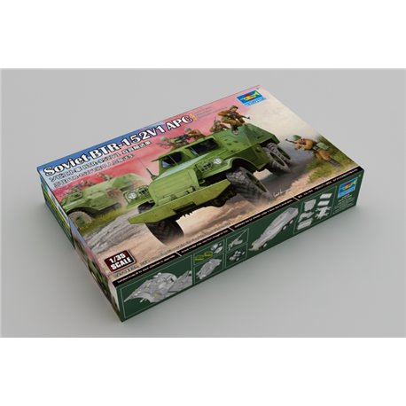 TRUMPETER 09573 1/35 Soviet BTR-152B1 APC