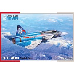 SPECIAL HOBBY SH72390 1/72 SF-37 Viggen Swedish Eyes