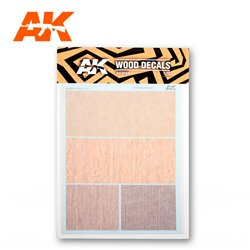 AK INTERACTIVE AK9084 WOOD DECALS 1/32 – 1/48
