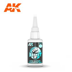 AK INTERACTIVE AK12015 MAGNET ULTRA RESISTANT CYANOCRYLATE GLUE 20gr.
