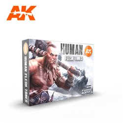 AK INTERACTIVE AK11603 HUMAN FLESH TONES SET