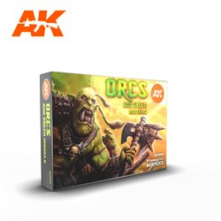 AK INTERACTIVE AK11600 ORCS AND GREEN MODELS SET