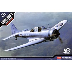 ACADEMY 12331 1/48 USMC SBD-1 Dauntless