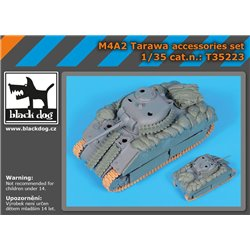 BLACK DOG T35223 1/35 M4A2 Tarawa accessories set