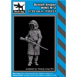 BLACK DOG F35217 1/35 British sniper WW I N°2