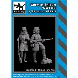 BLACK DOG F35215 1/35 German snipers WW I set