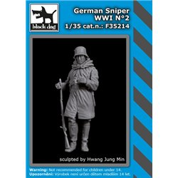 BLACK DOG F35214 1/35 German sniper WW I N° 2