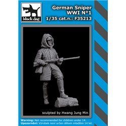 BLACK DOG F35213 1/35 German Sniper WWI N°1