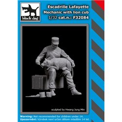 BLACK DOG F32084 1/32 Escadrille Lafayete pilot