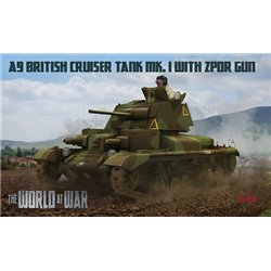 IBG MODELS WAW011 1/72 A9 British Cruiser Tank Mk.I with 2pdr gun