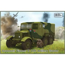 IBG MODELS 72078 1/72 Scammell Pioneer R 100 Artillery Tractor