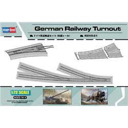 HOBBY BOSS 82909 1/72 German Railway Turnout