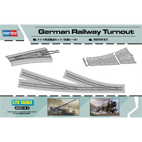 HOBBY BOSS 82909 1/72 German Railway Turnout