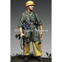 TRUMPETER 08018 Disposable Mini Flat Brush (10 pcs)