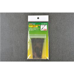 TRUMPETER 08018 Disposable Mini Flat Brush (10 pcs)