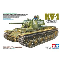 TAMIYA 35372 1/35 Russian Heavy Tank KV-1