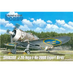 SPECIAL HOBBY SH48208 1/48 J-20/Héja I 'Re 2000 Export Birds'