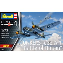 REVELL 04972 1/72 Junkers Ju88 A-1 Battle of Britain
