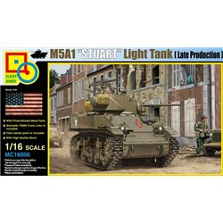 CLASSY HOBBY MC16006 1/16 M5A1 Stuart (Late Production)
