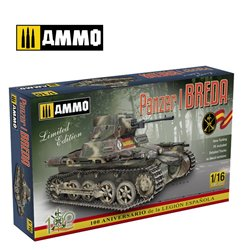 AMMO BY MIG A.MIG-8503 1/16 Panzer I Ausf. A Breda, Spanish Civil War light tank