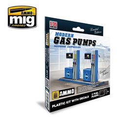 AMMO BY MIG A.MIG-8501 1/35 MODERN GAS PUMPS