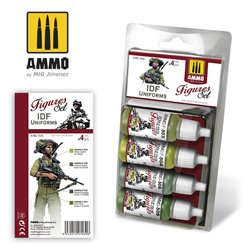 AMMO BY MIG A.MIG-7030 IDF UNIFORMS SET