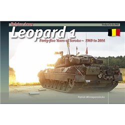 TRACKPAD PUBLISHING ITF003 Belgian Army Leopard 1 Forty-five Years of Service 1969-2014 (English)