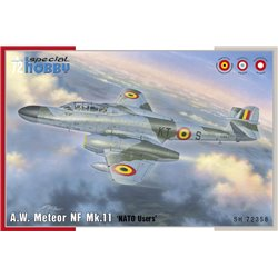 SPECIAL HOBBY SH72358 1/72 A.W. Meteor NF Mk.11 'NATO Users' Belgian Air Force