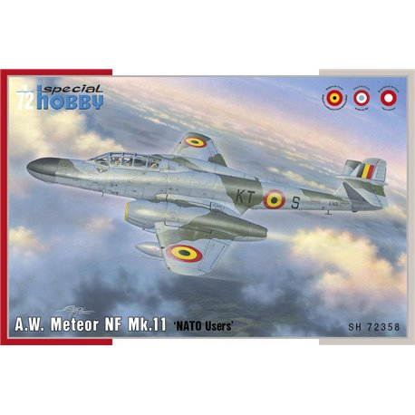SPECIAL HOBBY SH72358 1/72 A.W. Meteor NF Mk.11 'NATO Users'