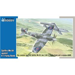 SPECIAL HOBBY SH48192 1/48 Spitfire Mk.XII contra V-1 Flying Bomb