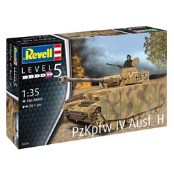 REVELL 03333 1/35 Panzer IV Ausf. H