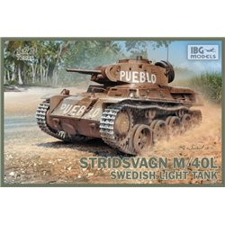IBG MODELS 72036 1/72 Stridsvagn m/40 L