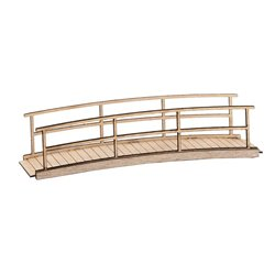 FALLER 180301 1/87 Small wooden bridge