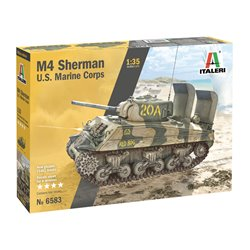 ITALERI 6583 1/35 M4A2 Sherman US Marines Corps