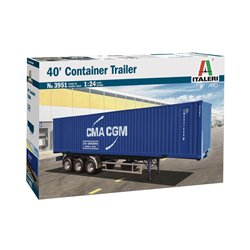 ITALERI 3951 1/24 40' CONTAINER TRAILER