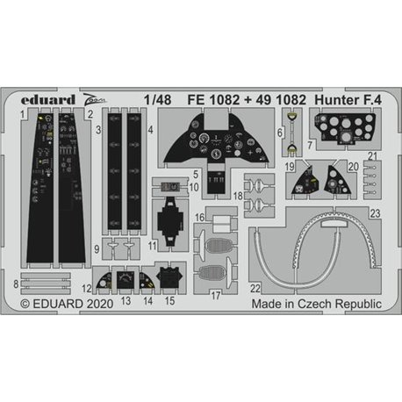 EDUARD FE1082 1/48 Hunter F.4
