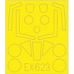 EDUARD EX623 1/48 Meteor FR.9