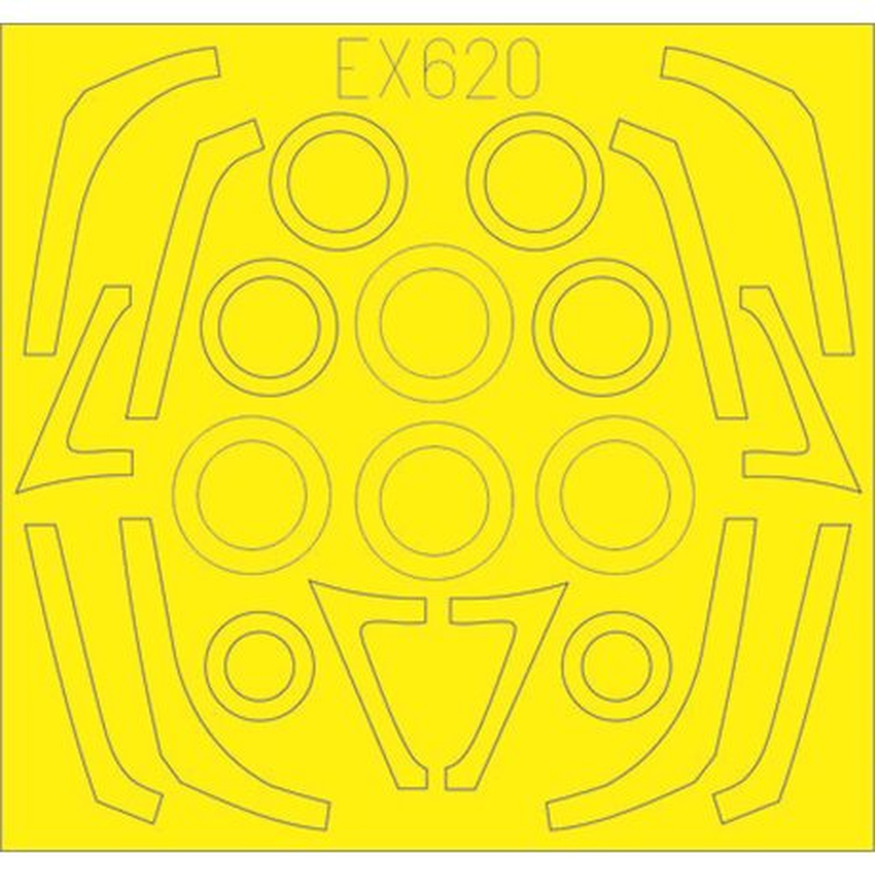EDUARD EX620 1/48 F-16C/N TFace