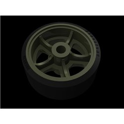 PANZER ART RE35-631 1/35 M4 Sherman Road wheels Pattern No. 1
