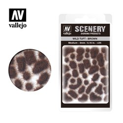 VALLEJO SC411 Wild Tuft – Brown