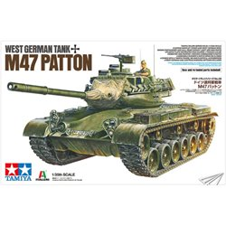 TAMIYA 37028 1/35 West German tank M47 Patton